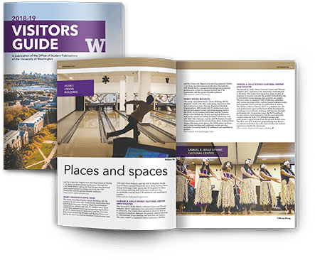 University of Washington's Visitor Guide Magazine